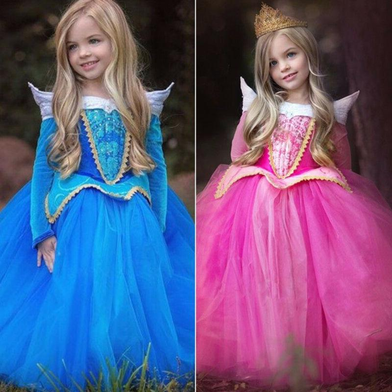 Girls' Princess Cinderella Kids Costume Dress Up Fairytale