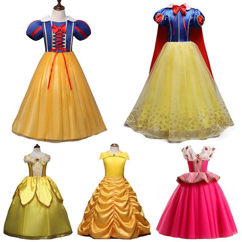 Girls' Clothing Princess Cinderella Party
