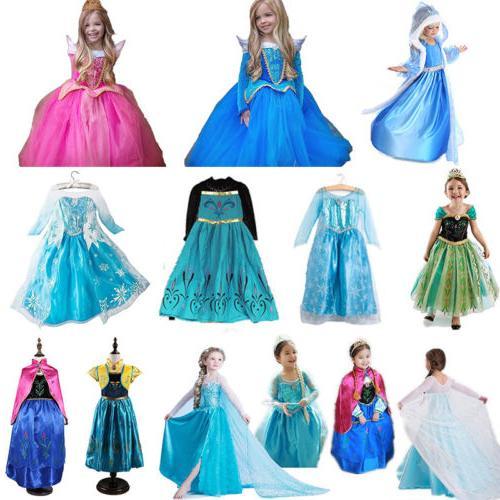 Girls' Cinderella Dress Fairytale