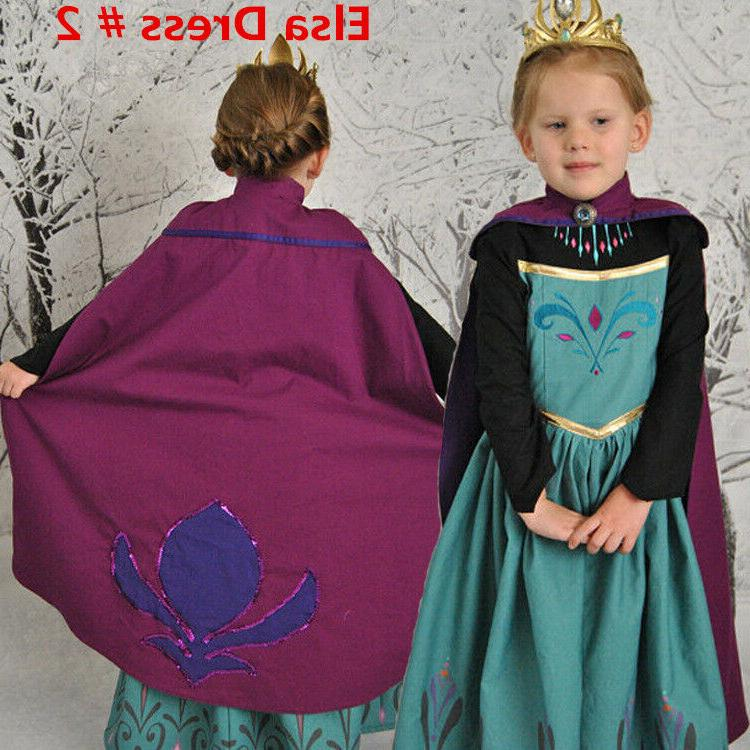 Princess Cosplay Dress for 2-10