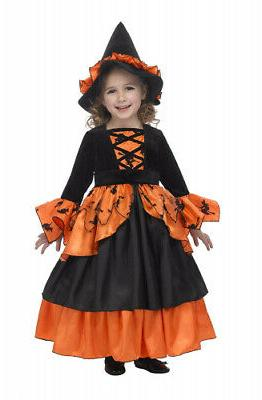 pumpkin witch fairy costume with hoop
