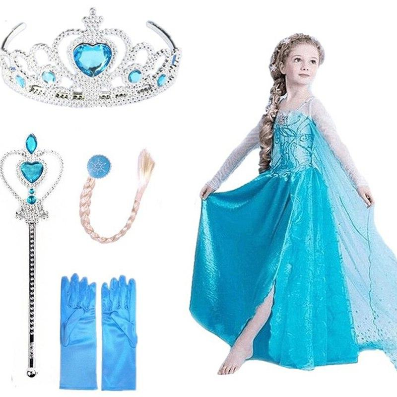 Queen Elza Vestidos <font><b>Kids</b></font> Clothing