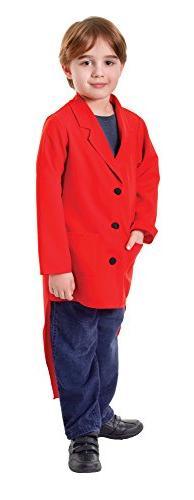 Medium Red Children's Tailcoat