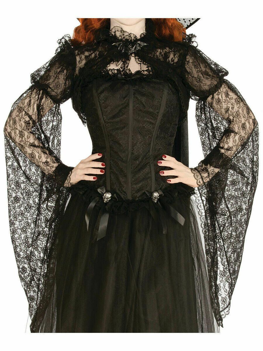 Rubie's Costume Co Women's Shadowy Shrug, Black, Medium 10-1