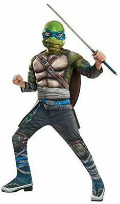 Rubie's Costume Kids Teenage Mutant Ninja Turtles Deluxe Leo