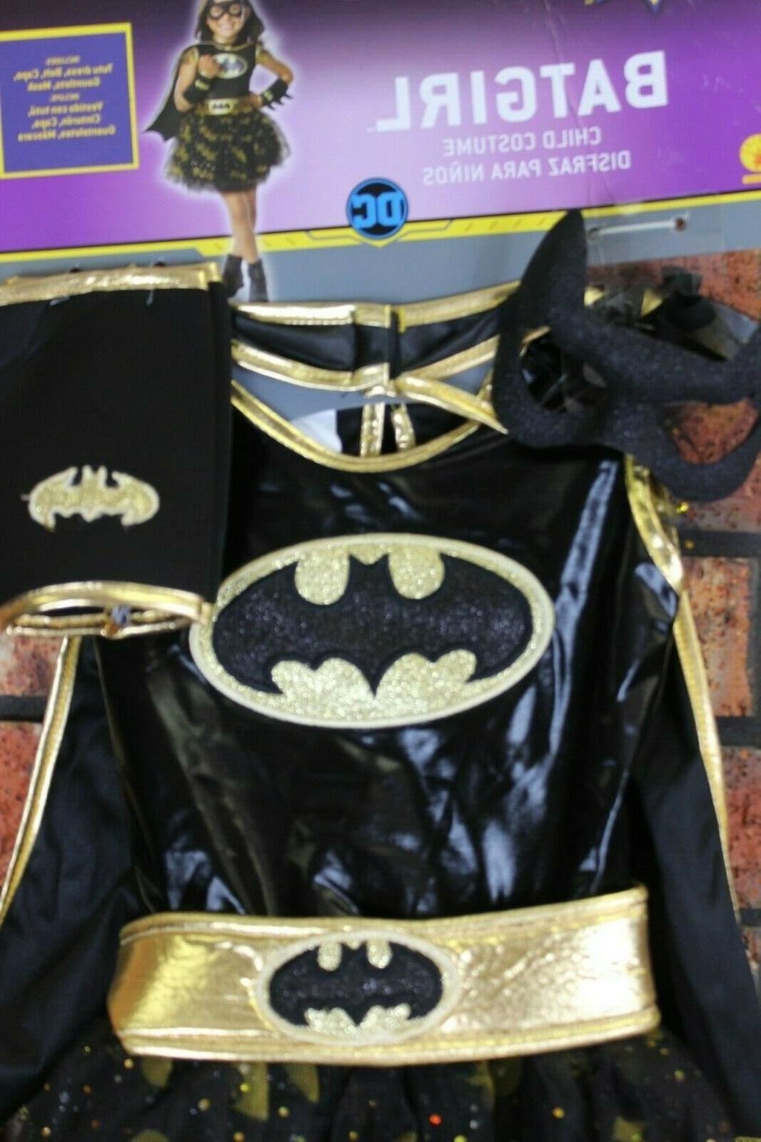 Rubie's Batgirl Dress Child Costume Size