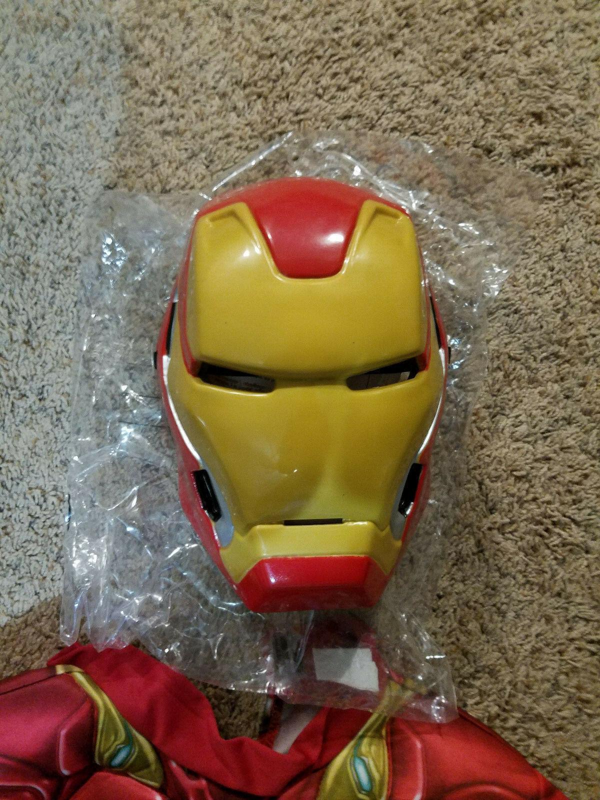 Rubie's Deluxe Iron Man Child Costume Suite &