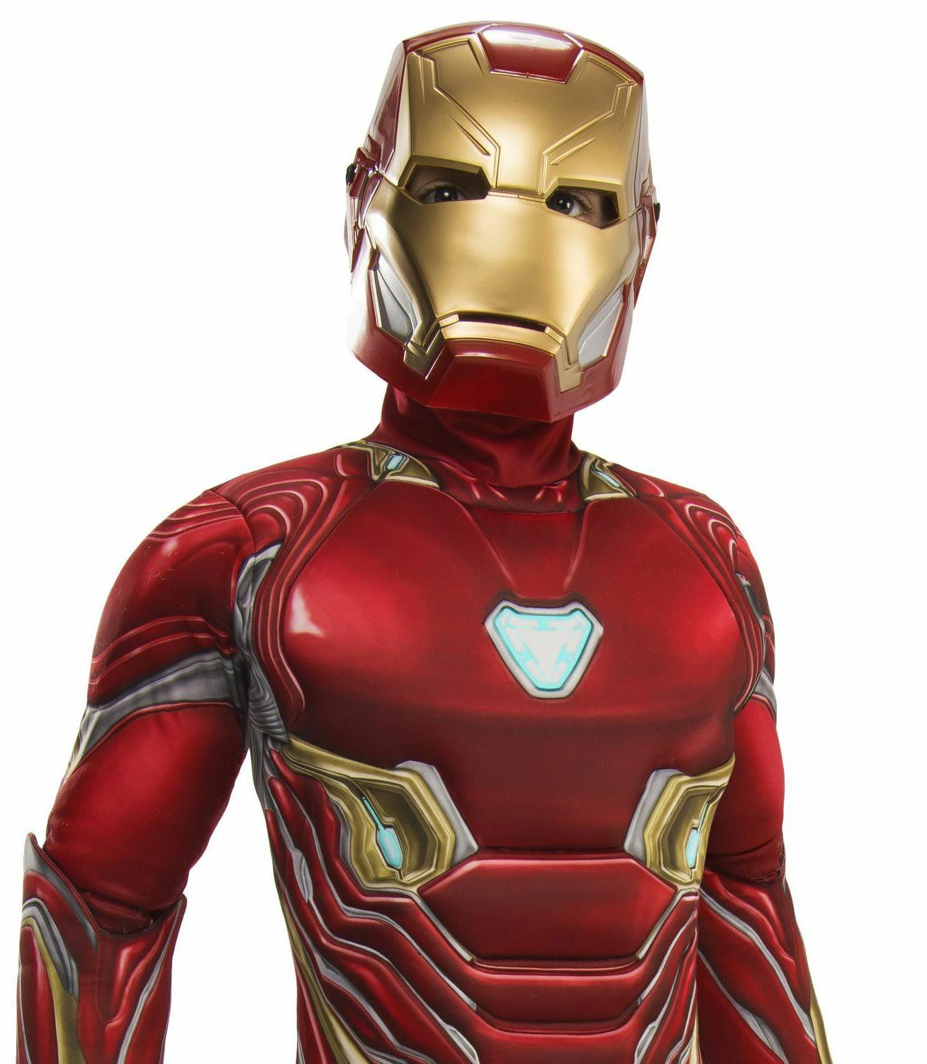 Rubie's Deluxe Lightup Iron Man Child & Mask