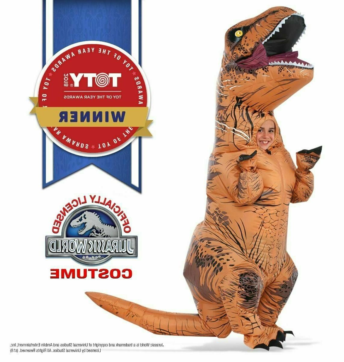 Rubie's Jurassic World T-Rex Inflatable Costume, Child's Siz