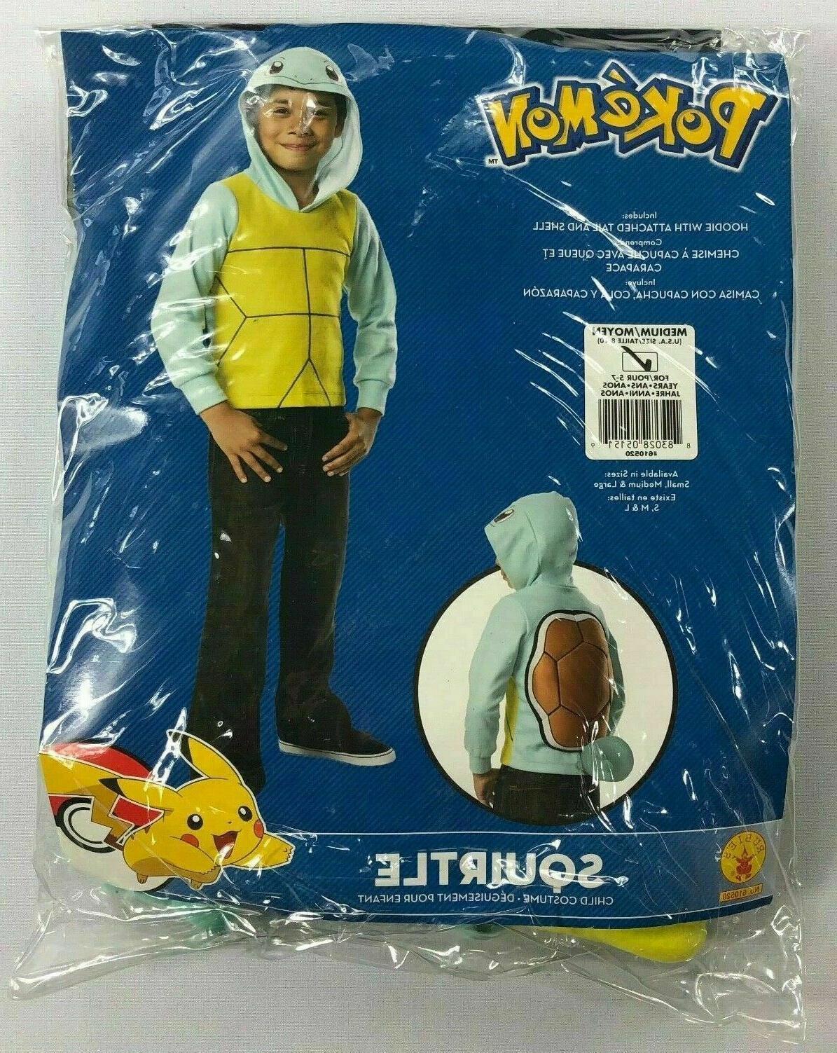 rubie s pokemon squirtle halloween child costume