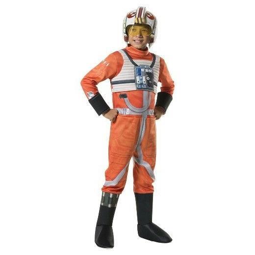 RUBIE'S STAR WARS X-WING FIGHTER PILOT CHILD COSTUME - TARGE