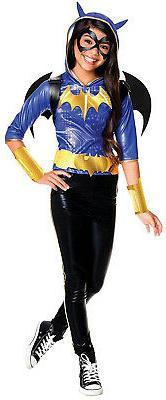 Rubies Costume Kids DC Superhero Girls Deluxe Batgirl Costum