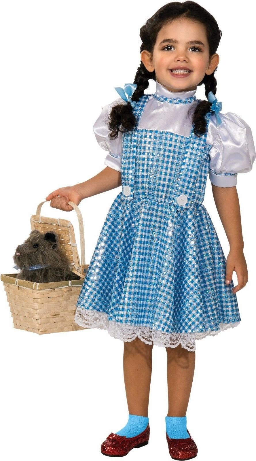 Rubies Dorothy Sequin Wizard Of Oz Movie Child Girls Hallowe