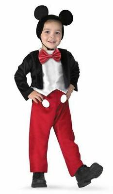 Disney's Classic Mickey Mouse Deluxe Child Kids Costume |
