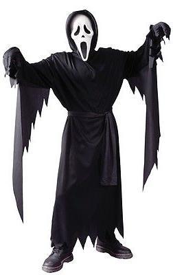 Scream Classic Ghost Face Child Costume, Fun World, 8774