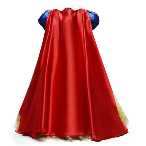 Snow White Dress Halloween Party Cosplay Fancy