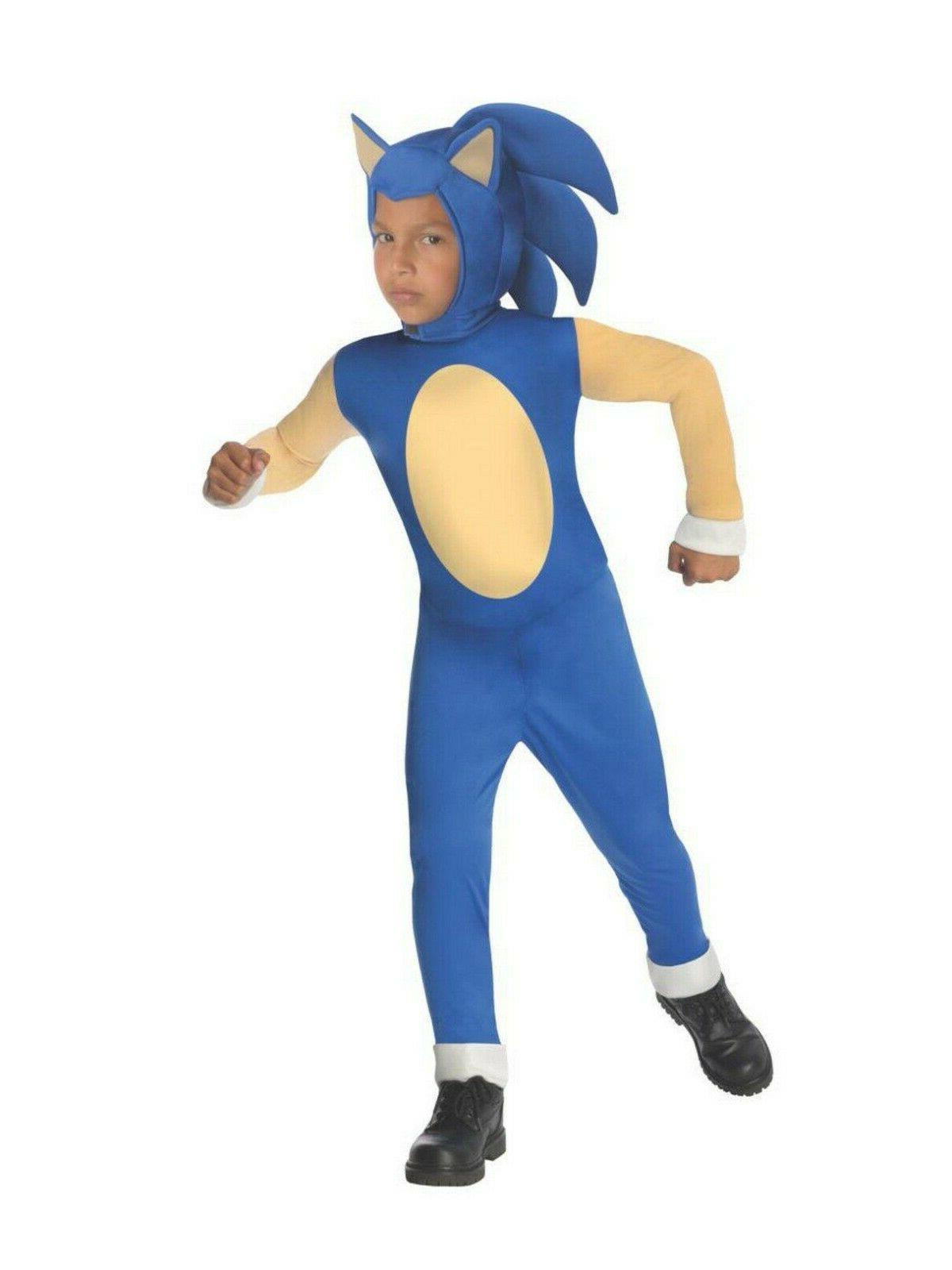 Sonic The Boys Kids Child -S 4-6, M L