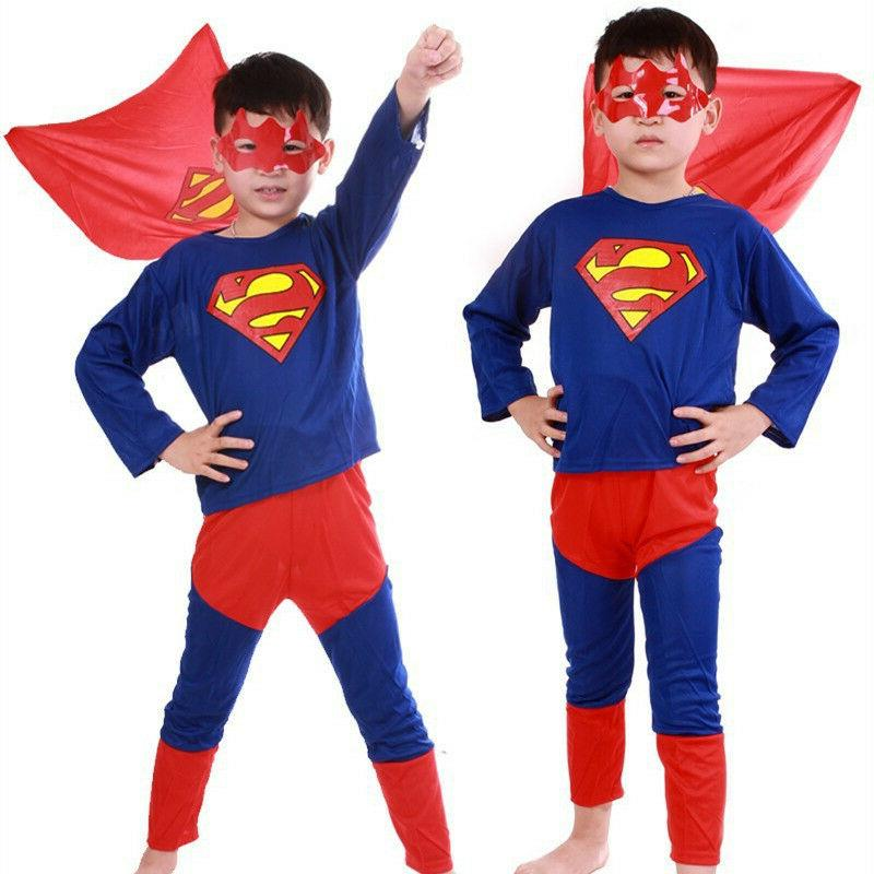 Spideman Costume Fancy Halloween For Kids Boys