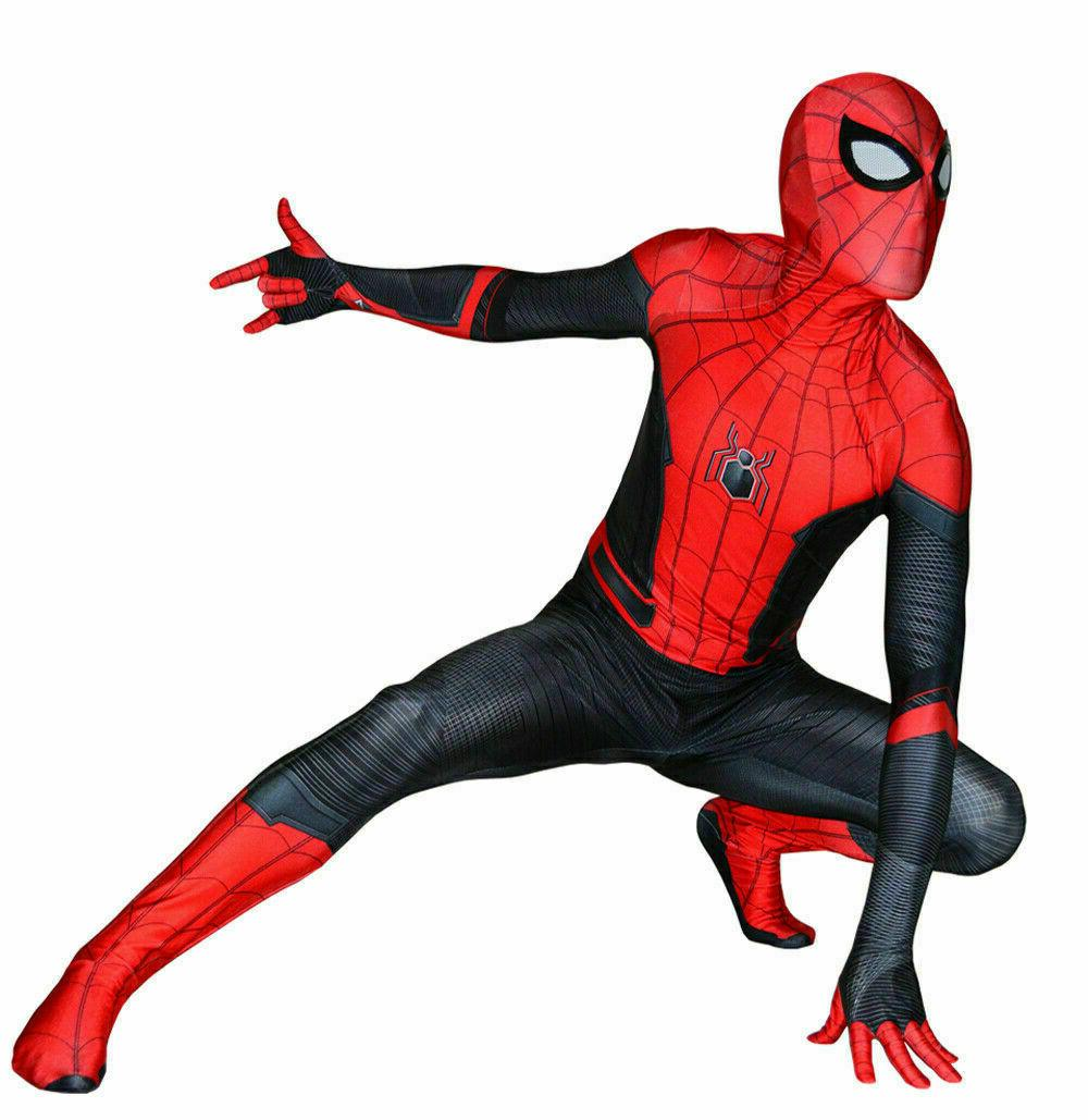 Spider-Man: Cosplay Costume Jumpsuits Boys Spandex