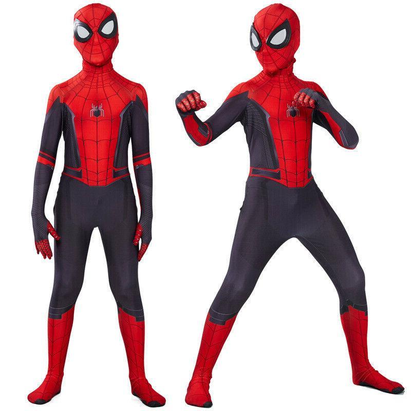 Spider Home Peter Parker Cosplay Men &