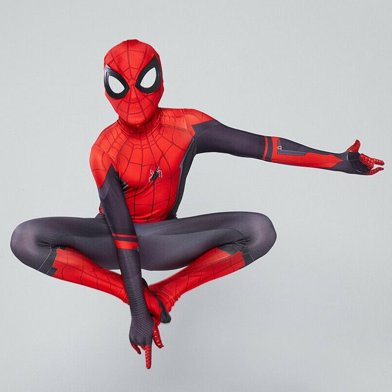 Spider Home Peter Parker Cosplay Costume for Men &