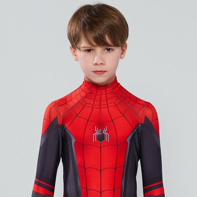Spider Man Far Home Parker Cosplay & Kids
