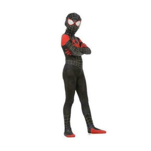 Spider-Man: the Miles Morales Cosplay Zentai Suit