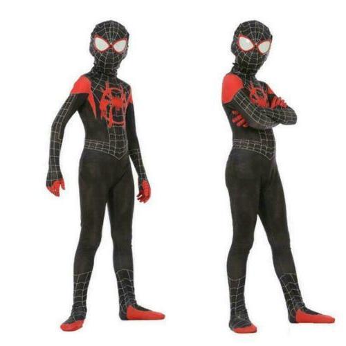2020 Spider-Man Into the Spider-Verse Miles Morales Zentai K