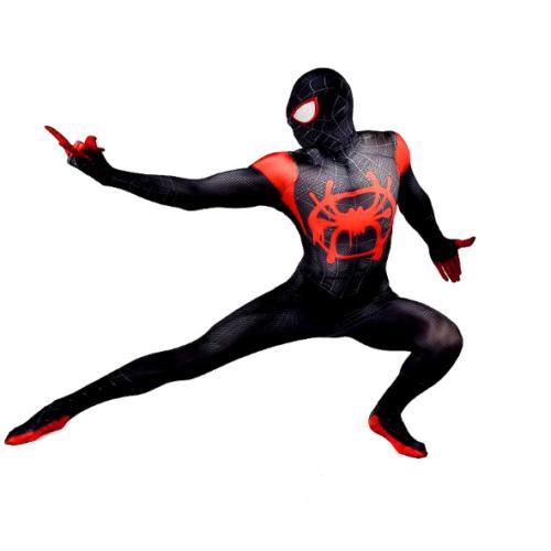 Spider-Man Miles Morales Zentai Adult Kids Costume