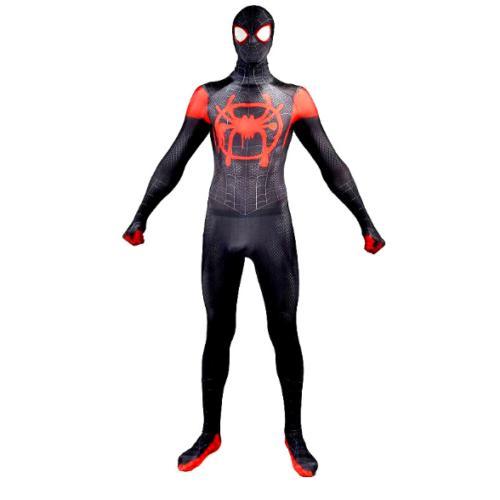 Spider-Man Miles Kids Cosplay Costume