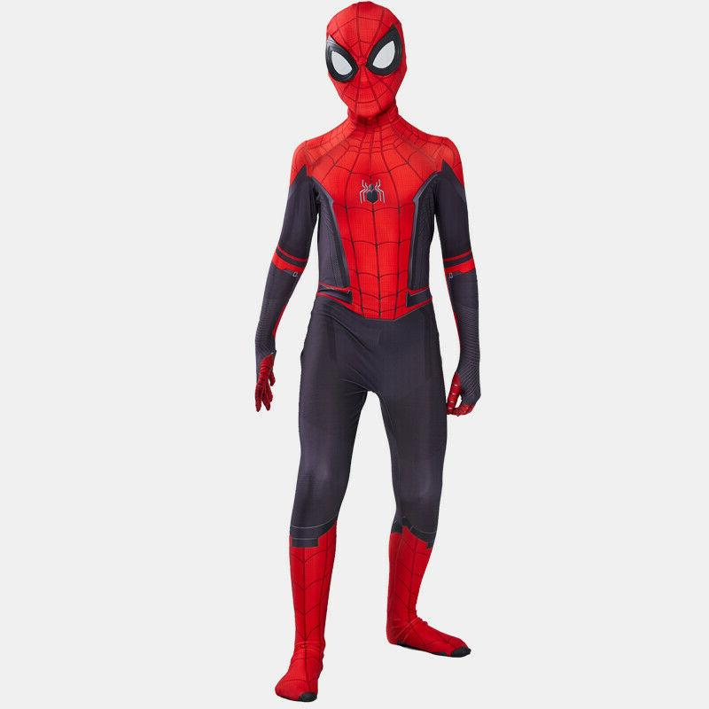 New Spider-Man Home Zentai Cosplay Costume Suit USA