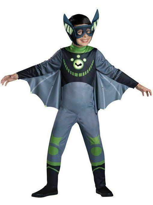InCharacter Standard Wild Kratts Chris Kratt Bat Child Hallo