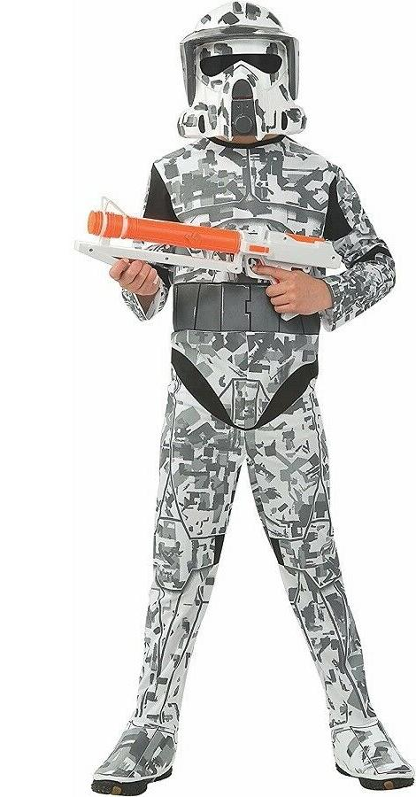 Star Wars The Clone Wars, Child's Costume And Mask, Arf Troo