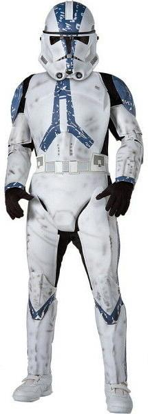 Star Wars Child's Deluxe Clone Trooper Costume, Large