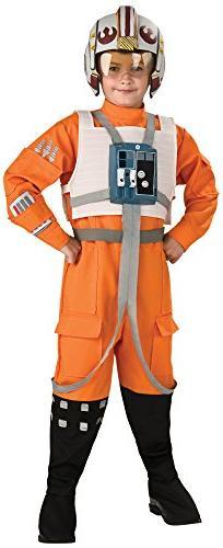 Rubie's Star Wars Classic Child's Deluxe X-Wing Pilot Costum