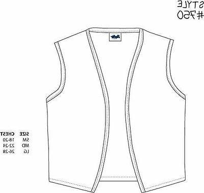 Style 750 High Quality No Uniform Vest Apron Made in USA
