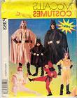 Super Hero Costume Vader Batman Star Wars Child 7/8 McCalls