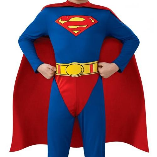 Superman Costume Fancy Dress
