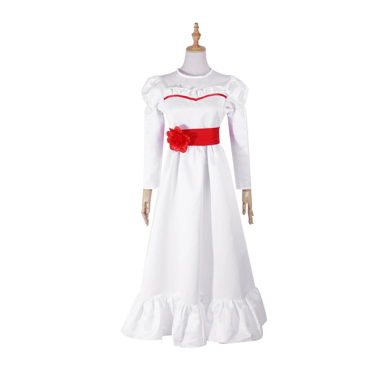 The Costume Halloween Long White