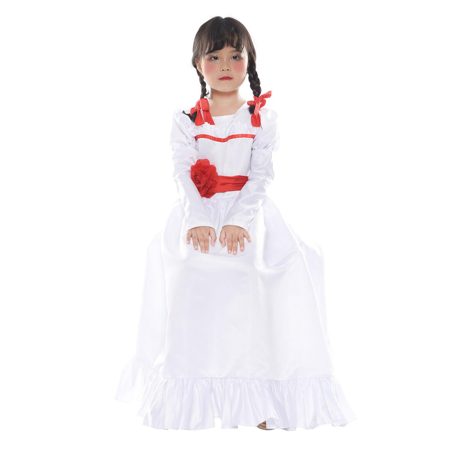 The Conjuring Costume Adult Kid Long White