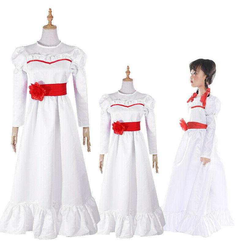 the conjuring annabelle cosplay costume adult kid