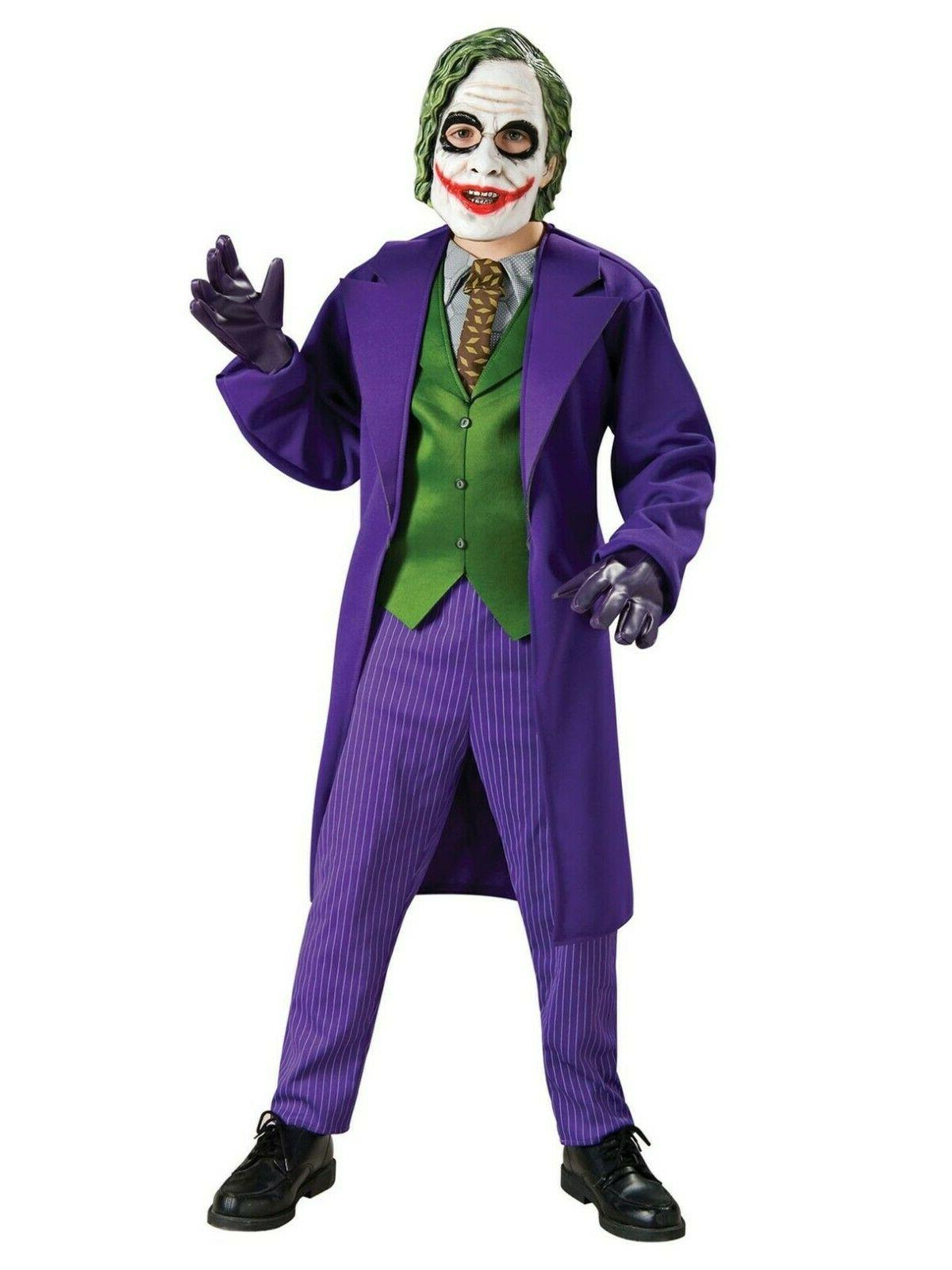 the dark knight deluxe the joker costume
