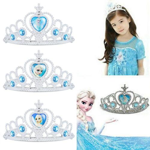 Toddler Kids Anna Elsa Princess Fancy Up Costume