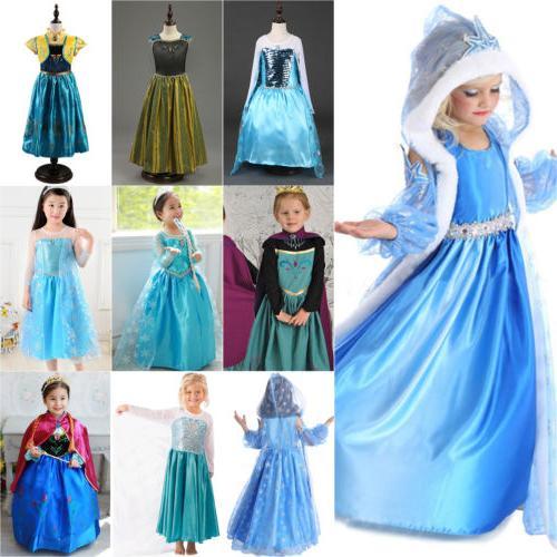 Kids Frozen Princess Anna Party Lot