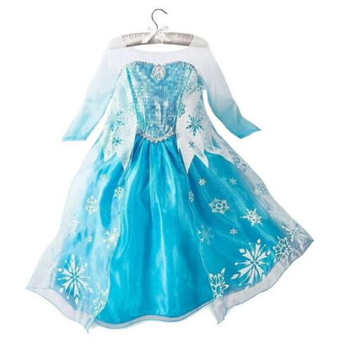 Kids Princess Fancy Cosplay Anna Party Lot