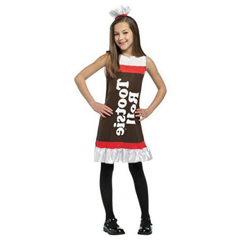 Rasta Imposta Tootsie Roll Girls Child Costume Dress | 4009