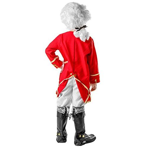 Dress Up Toy Inc. Victorian Soldier Boy Size