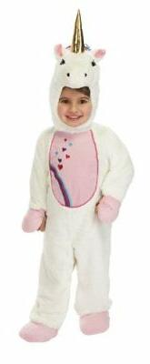 Just Pretend Kids Unicorn Animal Costume, Small by