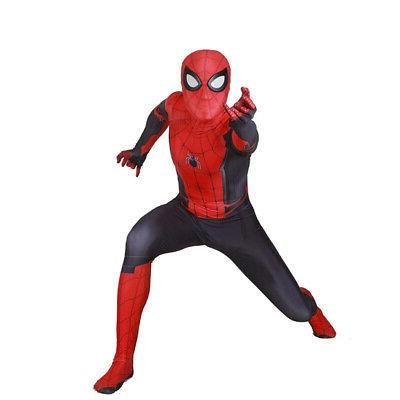 US! Spider-Man From Home Cosplay Costume Spiderman Zentai For