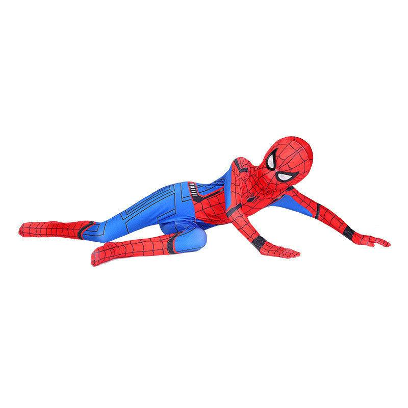 US Spider-Man: Costume Jumpsuits Kids Spandex
